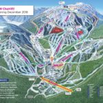 Sun Peaks Ski Resort Trail Map Snowcapped Travel