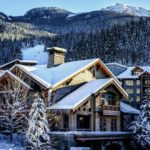 First Tracks Lodge Whistler Creekside Snowcapped Travel