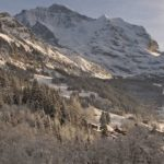 Wengen Ski Resort Snowcapped Travel